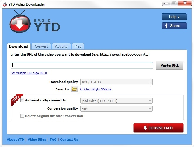 ytd video converter for android
