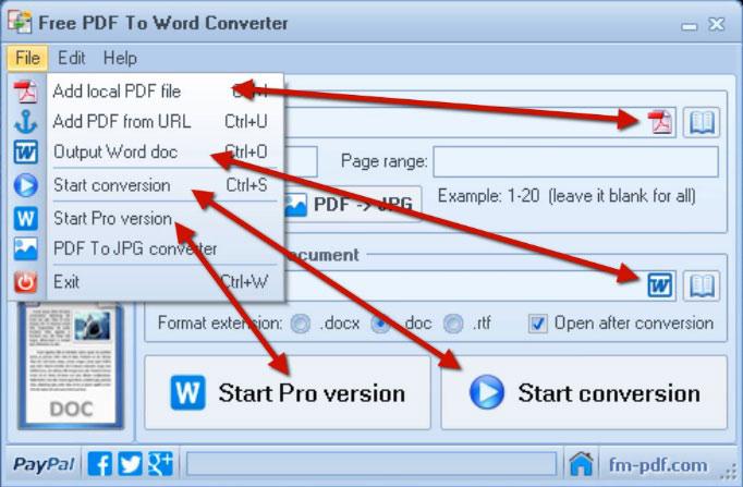 PDF to Word Converter Download - allinstaller com